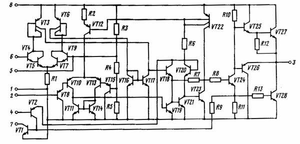 микросхема КР1006ВИ1 схема
