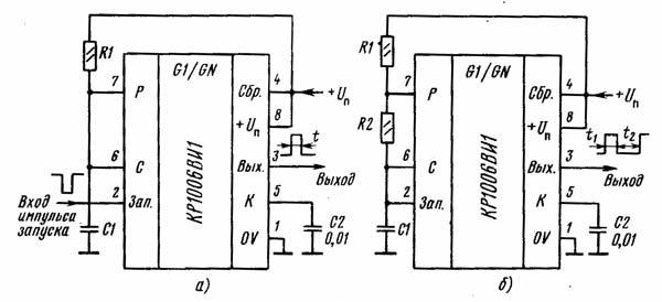 Схема включения кр1006