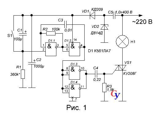 ±12 вольт формируется на